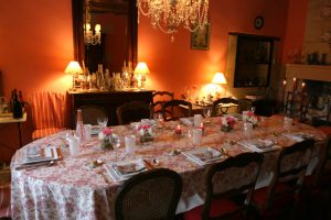 table d hotes Le Clos de Ligre