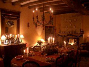 salle manger Le Clos de Ligre